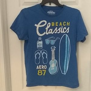 Aeropostale Beach Classics T-shirt Size L